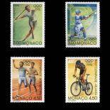 Timbre de collection de Monaco N° 2051/54 neuf sans charnière
