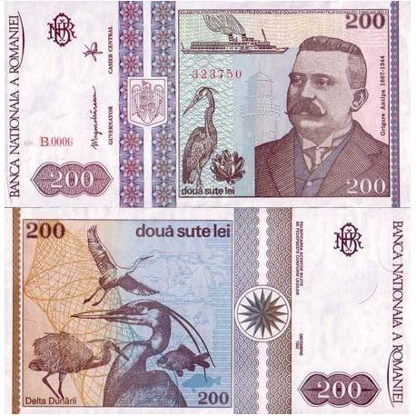 Billets de collection Billets de banque Roumanie Pk N° 100 - 200 Lei Billets de Roumanie 3,00 €