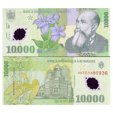 Billets de collection Billets banque Roumanie Pk N° 112 - 10000 Lei Billets de Roumanie 3,00 €