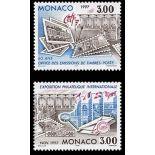 Timbre de collection de Monaco N° 2082/83 neuf sans charnière