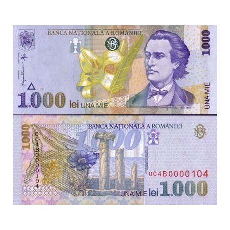 Roumanie - Pk N° 106 - Billet de 1000 Lei