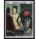 Francobollo di Monaco N° 1455 nove senza cerniera