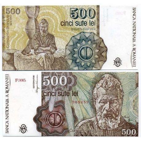 Roumanie - Pk N° 98 - Billet de 500 Lei