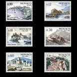 Timbre de collection de Monaco N° 677/82 neuf sans charnière