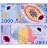 Billet de collection Roumanie Pk N° 111 - 2000 Lei