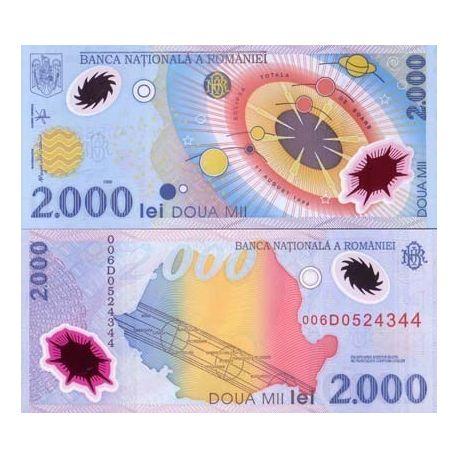 Roumanie - Pk N° 111 - Billet de 2000 Lei