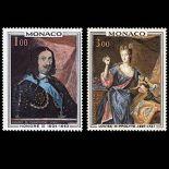 Francobollo di Monaco N° 797/98 nove senza cerniera