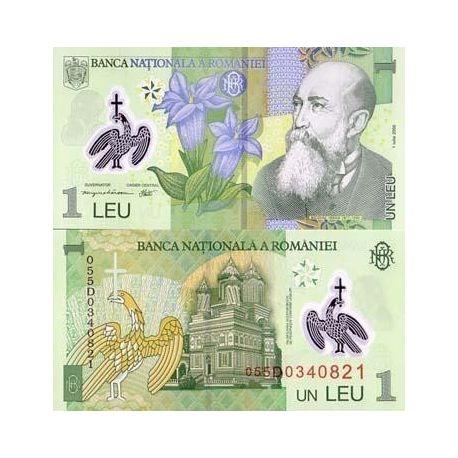 Billets de collection Billets de banque Roumanie Pk N° 117 - 1 Lei Billets de Roumanie 2,00 €