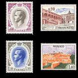 Francobollo di Monaco N° 847/50 nove senza cerniera