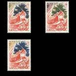 Francobollo di Monaco N° 871/73 nove senza cerniera