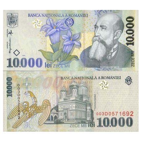 Billets de collection Billet de banque Roumanie Pk N° 108 - 10000 Lei Billets de Roumanie 6,00 €