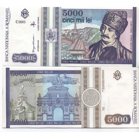 Roumanie - Pk N° 103 - Billet de 5000 Lei