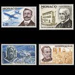 Francobollo di Monaco N° 910/13 nove senza cerniera