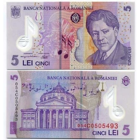 Roumanie - Pk N° 118 - Billet de 5 Lei