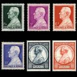Stamp collection of Monaco N° 281/86 nine without hinge