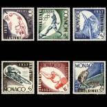 Timbre de collection de Monaco N° 386/91 neuf sans charnière