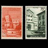 Francobollo di Monaco N° 397/98 nove senza cerniera