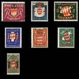 Stamp collection of Monaco N° 405/11 nine without hinge