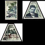 Timbre de collection de Monaco N° 412/14 neuf sans charnière