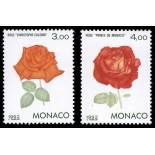Timbre de collection de Monaco N° 1839/40 neuf sans charnière
