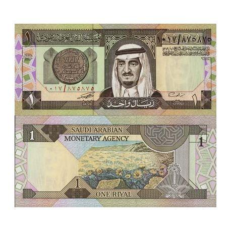 Billet de banque Arabie Saoudite Pk N° 21 - 1 Ryal