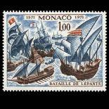 Timbre de collection de Monaco N° 870 neuf sans charnière