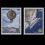 Francobollo di Monaco N° 1365/66 nove senza cerniera