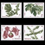 Francobollo di Monaco N° 1393/96 nove senza cerniera
