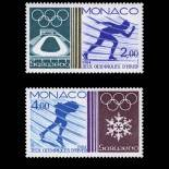 Francobollo di Monaco N° 1416/17 nove senza cerniera