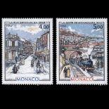 Francobollo di Monaco N° 1433/34 nove senza cerniera