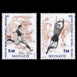Francobollo di Monaco N° 1528/29 nove senza cerniera