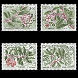 Francobollo di Monaco N° 1557/60 nove senza cerniera