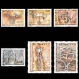 Francobollo di Monaco N° 1663/68 nove senza cerniera