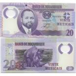 Collection of Banknote Mozambique Pick number 149 - 20 Escudo