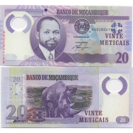 Mozambique - Pk No. 9999 - 20 Meticais ticket