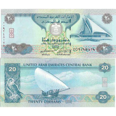 Emirats Arabes Unis - Pk N° 28 - Billet de 20 Dirhams