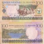 Billets collection Rwanda Pk N° 29 - 100 Francs