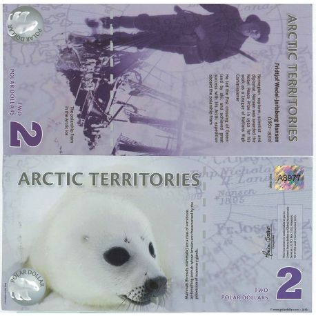 Arctic - Pk No. 9999 - Ticket 2 Dollars polar