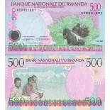 Banknoten Ruanda Pick Nummer 26 - 500 FRANC