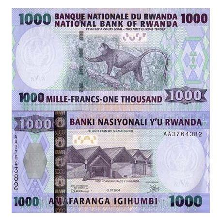Billet de banque Rwanda Pk N° 31 - 1000 Francs