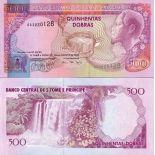 Sammlung von Banknoten St Thomas - Prince Pick Nummer 63 - 500 Dobras
