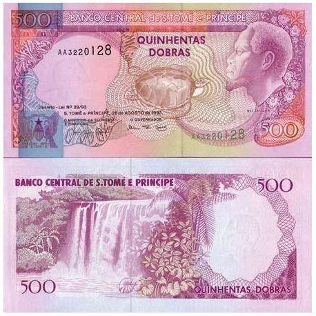 Billets de collection Billets de banque Saint Thomas & Prince Pk N° 63 - 500 Dobras Billets de Saint Thomas et Prince 5,00 €