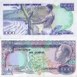 Banknote Saint Thomas & Prince Pick number 62 - 1000 Dobras