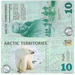 Colección de billetes Arctique / Antarctique Pick número 9999 - 10 Dollar