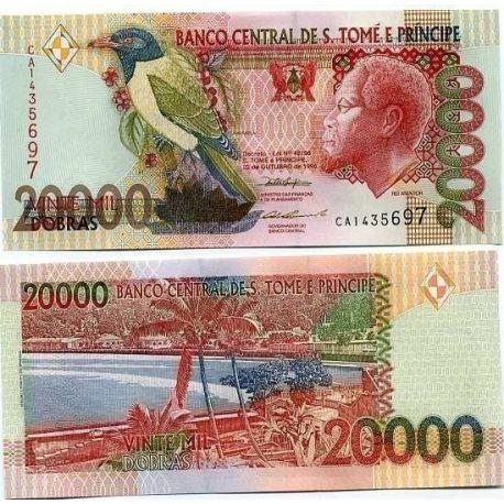 Billets de collection Billet de collection Saint Thomas & Prince Pk N° 67 - 20000 Dobras Billets de Saint Thomas et Prince 17...