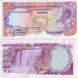 Collezione banconote San Tommaso - Prince Pick numero 61 - 500 Dobras