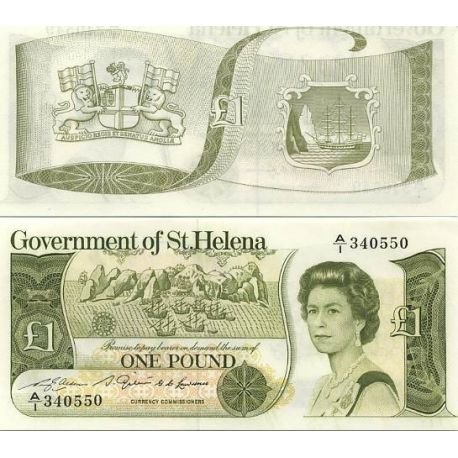 Sainte Helene - Pk N° 9 - Billet de 1 Pound