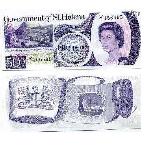 Sainte Helene - Pk N° 5 - Billet de 50 Pence