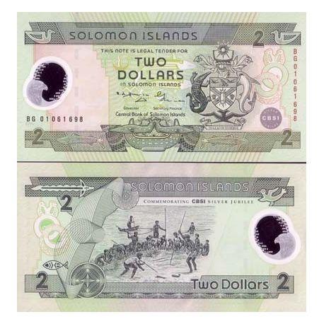 Salomon - Pk N° 23 - Billet de 2 Dollars