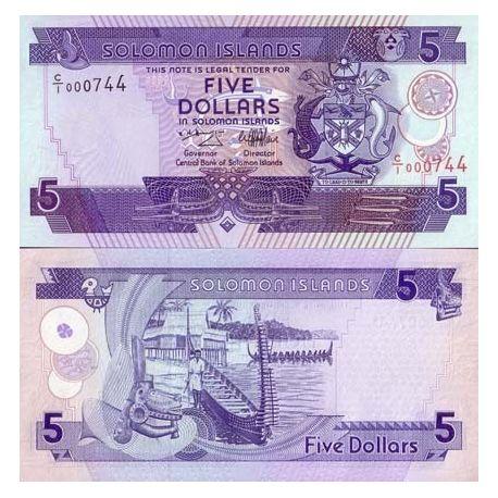 Salomon - Pk N° 14 - Billet de 5 Dollars